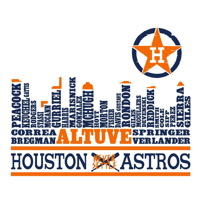 Pin by Emily Guerrero on Cameo Astros, Houston astros
