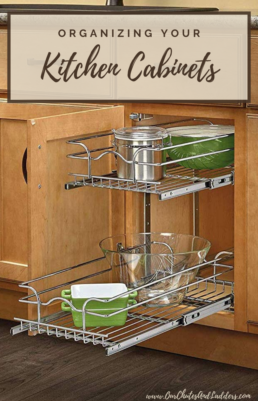 Organizing Your Kitchen Cabinets In 2020 Rev A Shelf Kitchen Cabinet Pulls Kitchen Storage Organization