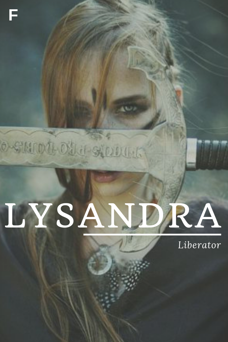 Lysandra Meaning Liberator Greek Names L Baby Girl Names L Baby