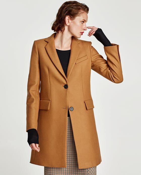 plus récent b79a0 4c0a3 Image 2 de MANTEAU MASCULIN de Zara | Coats | Manteau, Coat ...