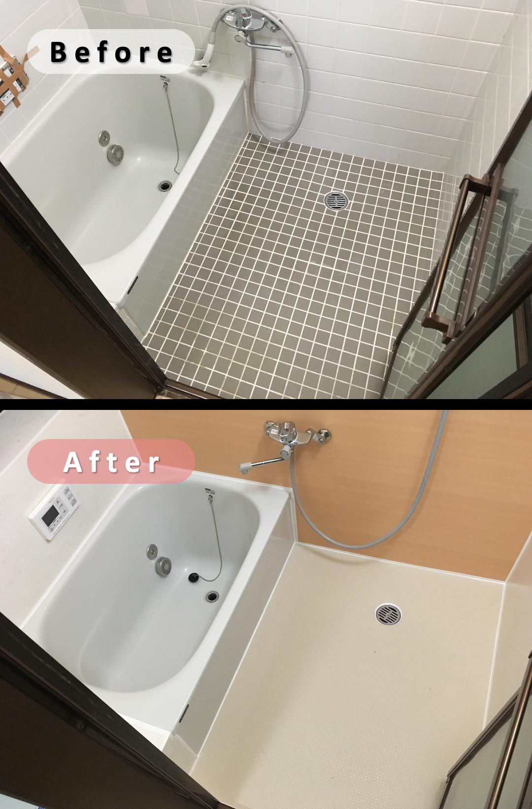 ボード 浴室 お風呂 のリフォーム のピン
