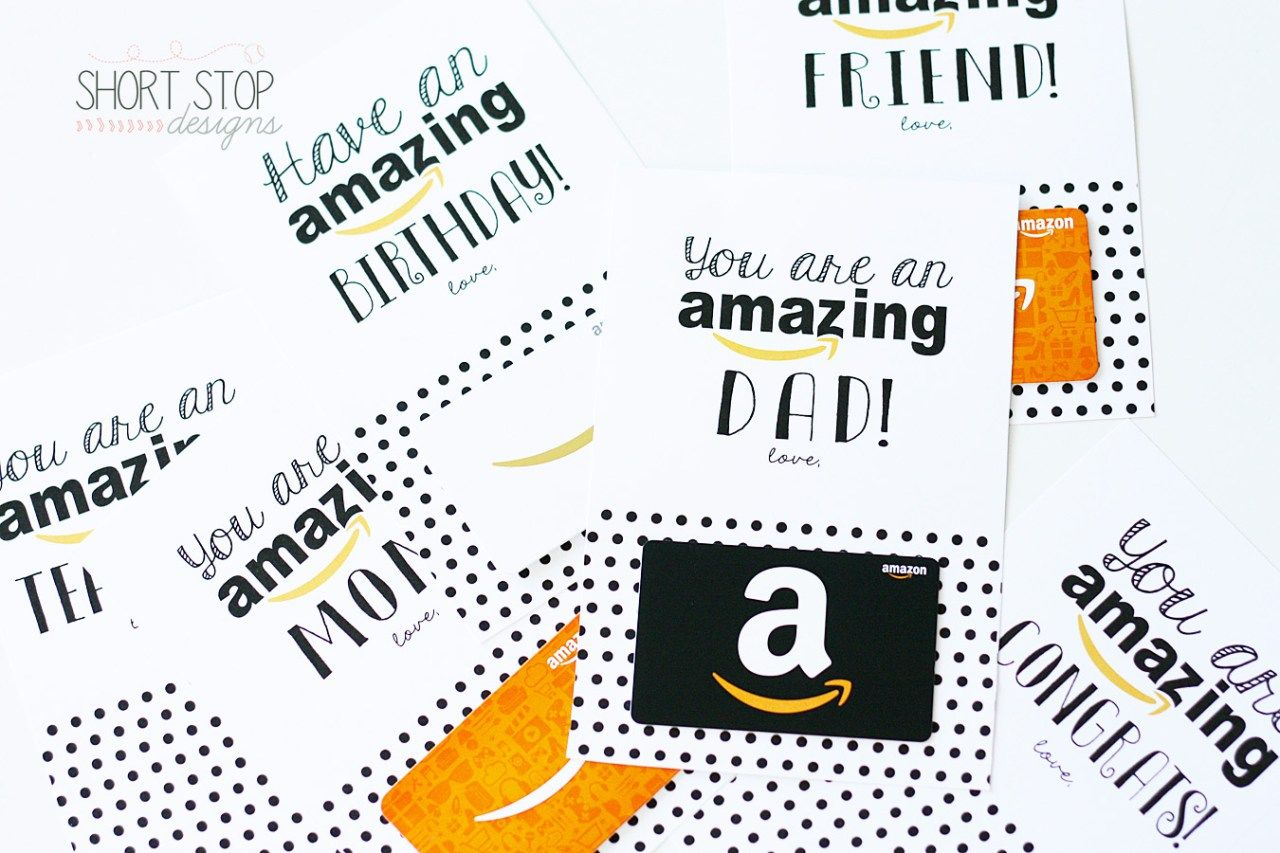 Amazon Gift Card Printables Amazon Gift Card Free Best Gift Cards Gift Card Specials