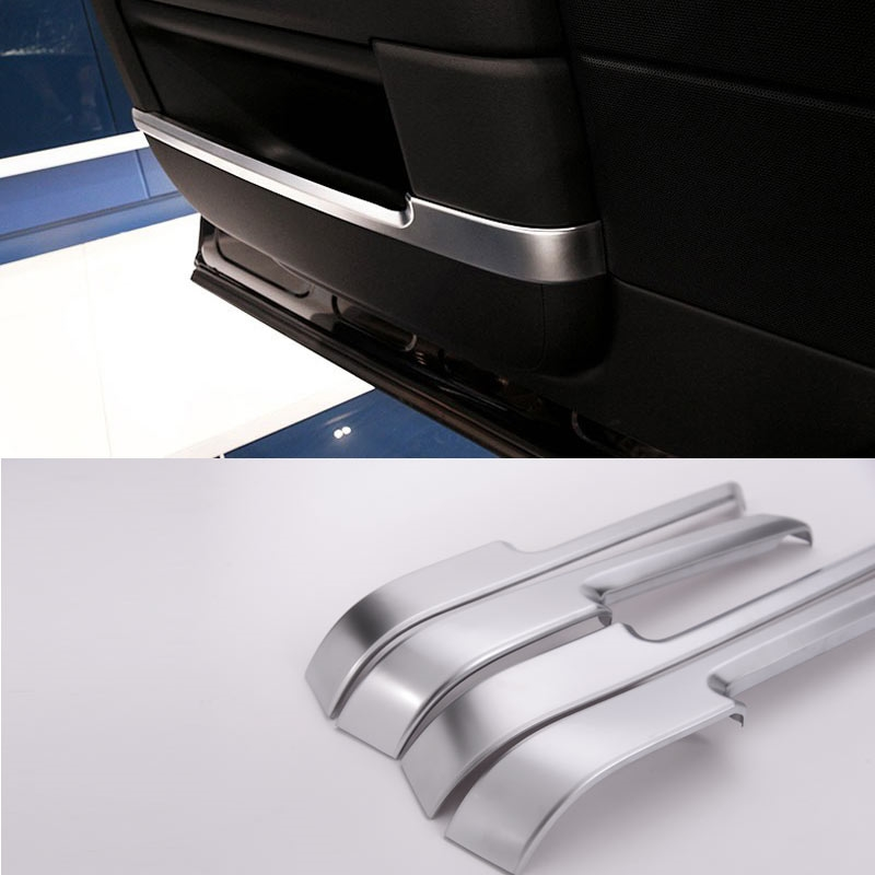 61.20$  Watch here - http://alij91.shopchina.info/go.php?t=32794450481 - 4pcs/set For Landroover Range Rover Vogue Car-Styling ABS Chrome Interior Door Decoration Strips Trim Accessories Sticker New 61.20$ #magazineonlinebeautiful