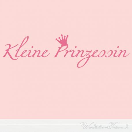 Wandtattoo Kleine Prinzessin Dekorativer Schriftzug Mit Krone Schriftzug Kleine Prinzessin Prinzessin