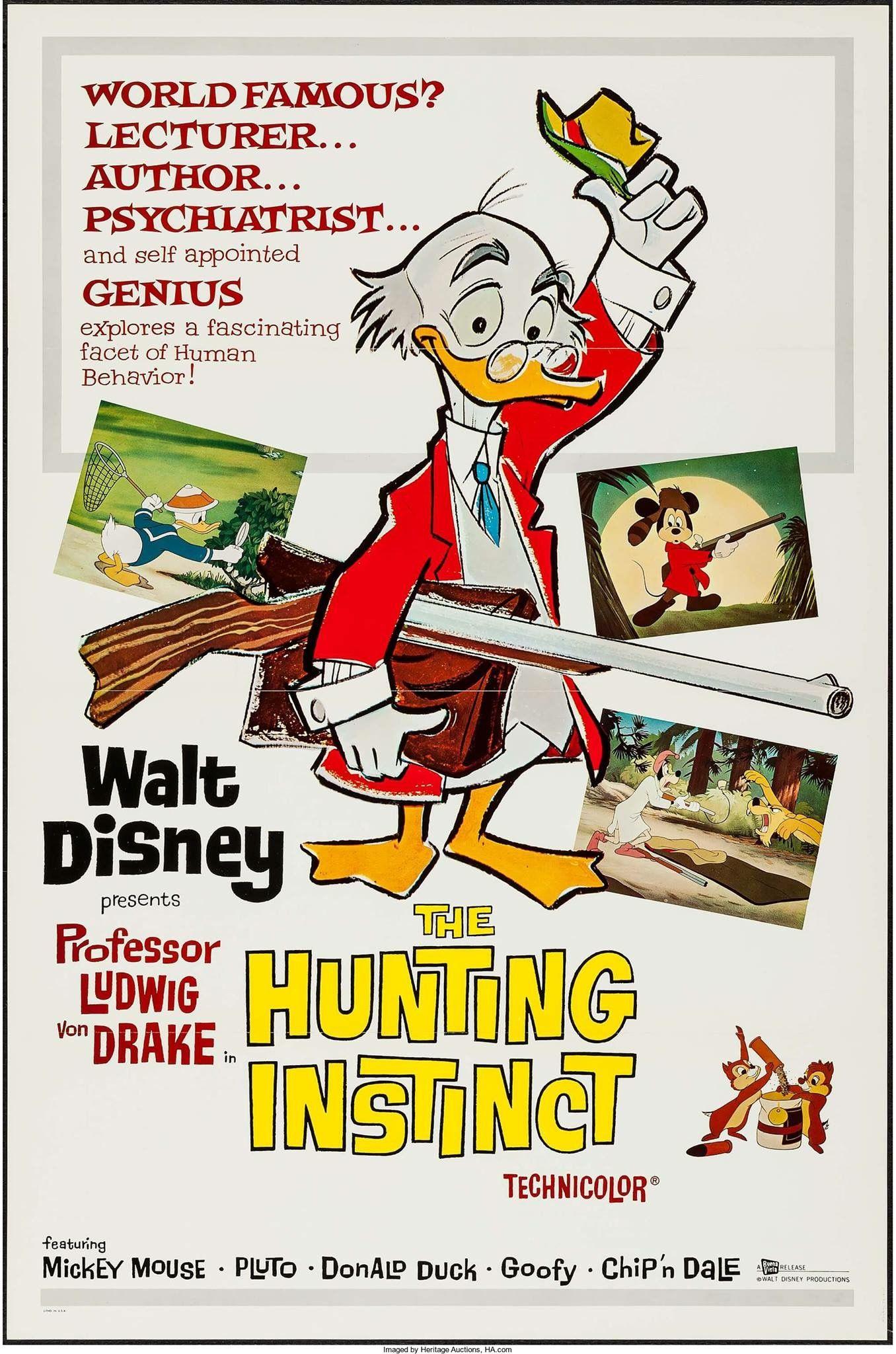 Prof Von Drake Disney Movie Posters Classic Disney Movies Vintage Disney Posters