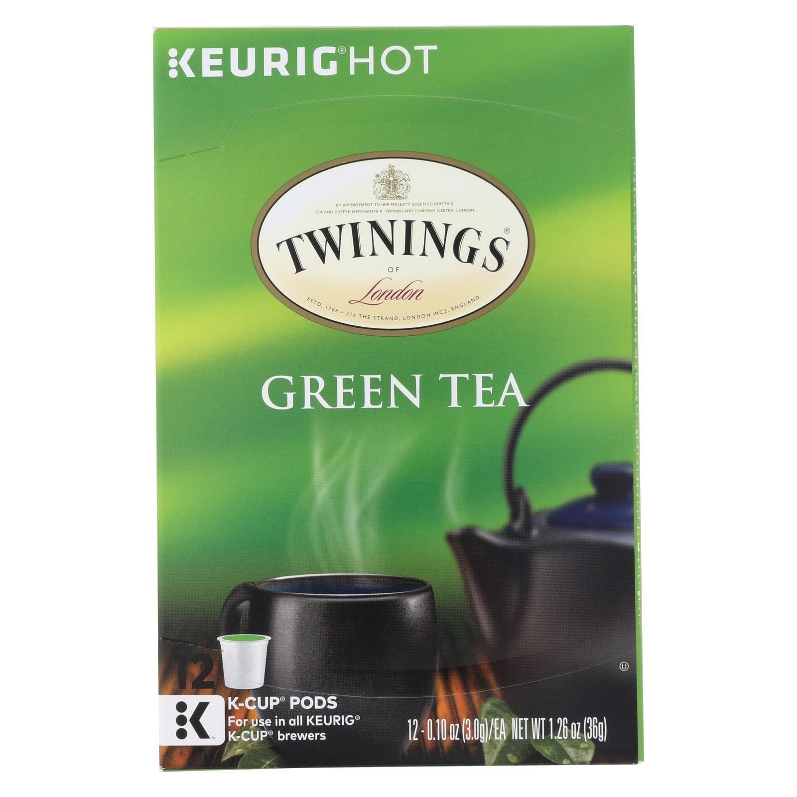 Twining's Tea Green Tea Case Of 6 12 Count Twinings