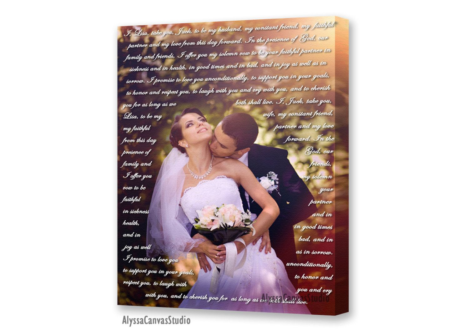Personalized wedding gift for couple, Song lyrics print