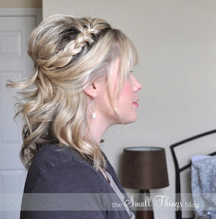 Bridal party hair do option