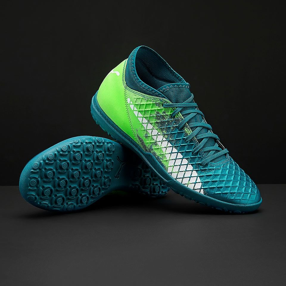 62a8fe392 Puma Future 18.4 TT - Mens Soccer Cleats - Turf Trainer - 10433903 - Deep  Lagoon