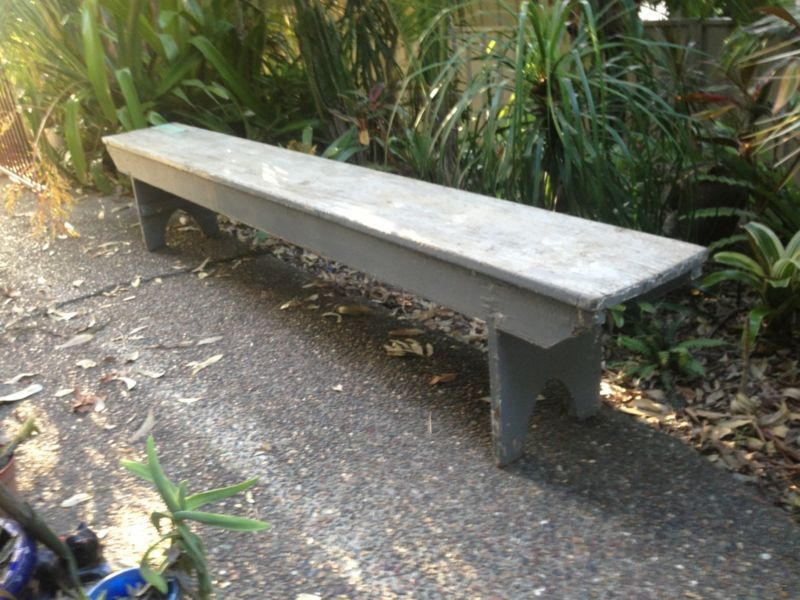 1950 S Antique Timber Bench Seat Antiques Gumtree