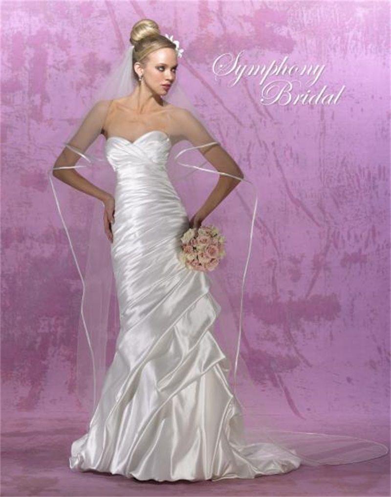 Click to buy ucuc simple wedding dresses elegant mermaid flores para