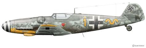 Messerschmitt Bf 109 G-6, Erich Hartmann