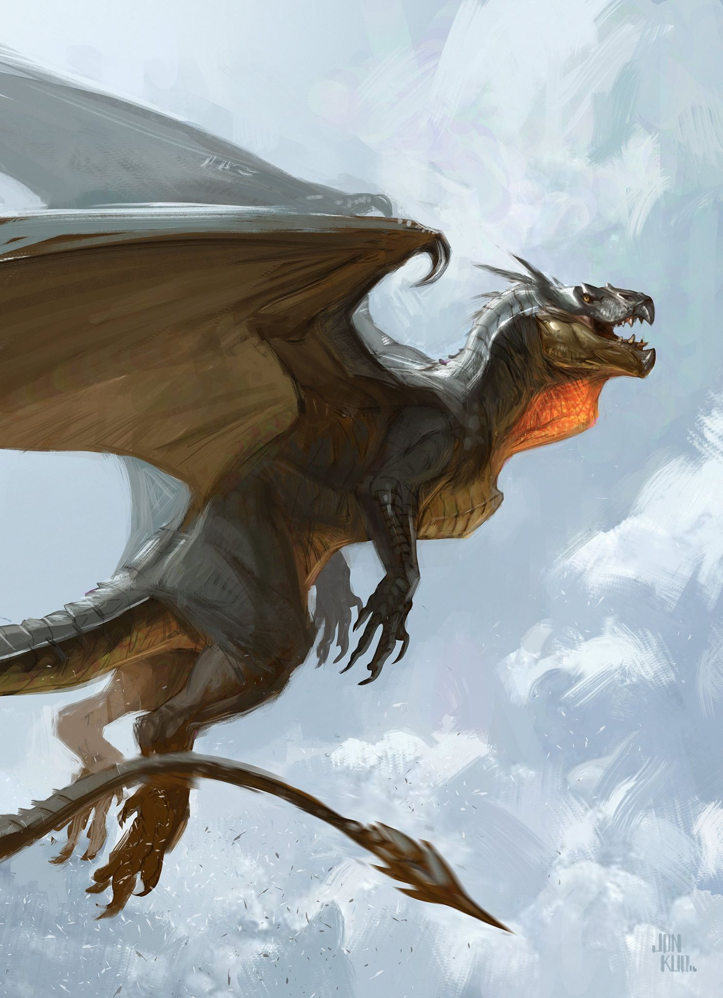Mythological Dragons: 15723584_10154776430399120_8900904908725440134_o.jpg (1484
