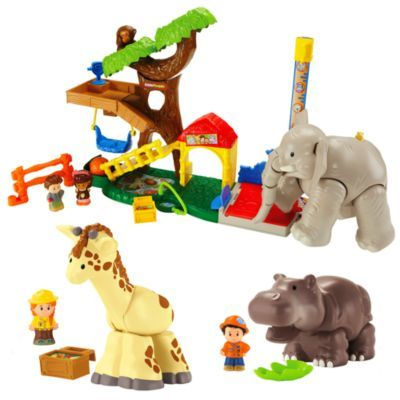 Fisher Price Little People Big Animal Zoo Gift Set Brandslittlepeople Fisher Price Best Kids Toys Little People Big Animals
