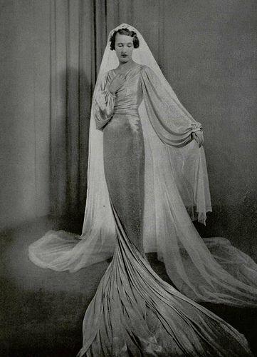 Wedding Dress 1935 Lanvin Wedding Dress Wedding Gowns Vintage 1930s Wedding Dress