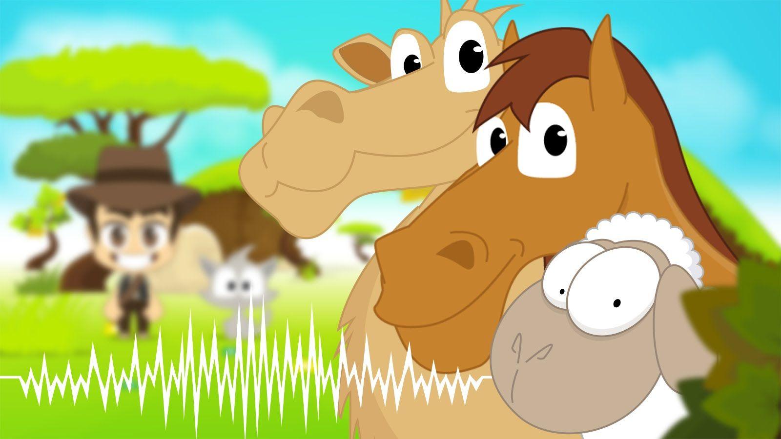 Animal Sounds In Arabic For Kids أصوات الحيوانات للاطفال باللغة العربية Animal Sounds Animals Diy Crafts