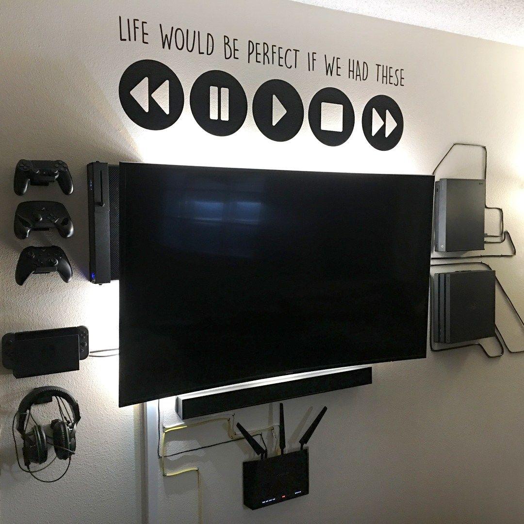 Afterhideit Image Gallery Boys Game Room Gamer Room Diy Video Game Rooms