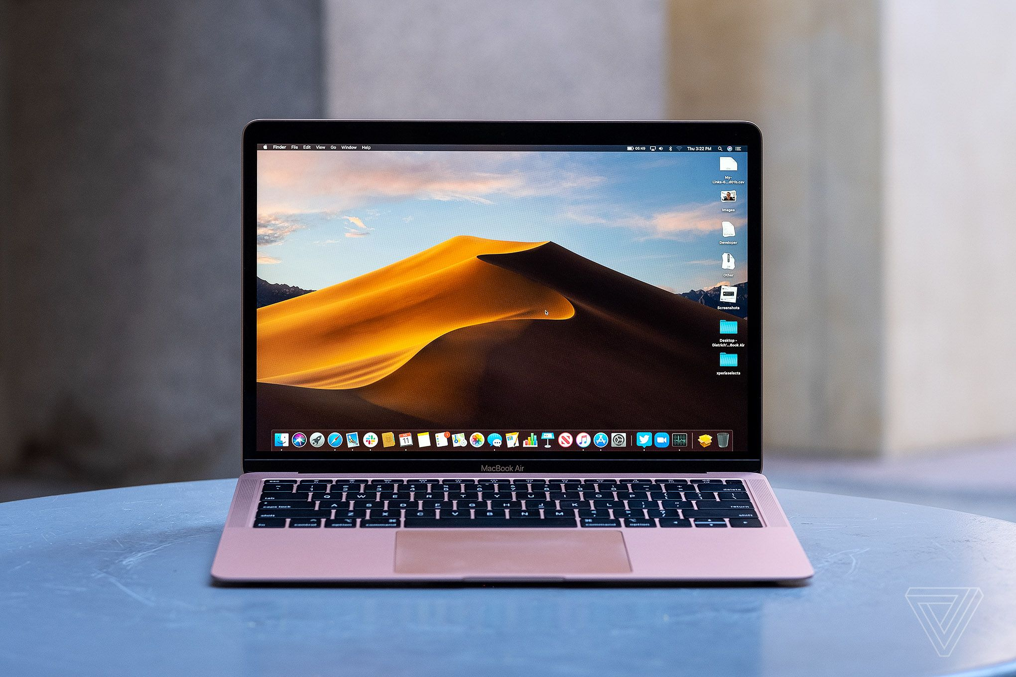 The all new MacBook Air with Retina display available with