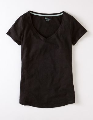 Lightweight V neck WL715 Tops & T-shirts at Boden