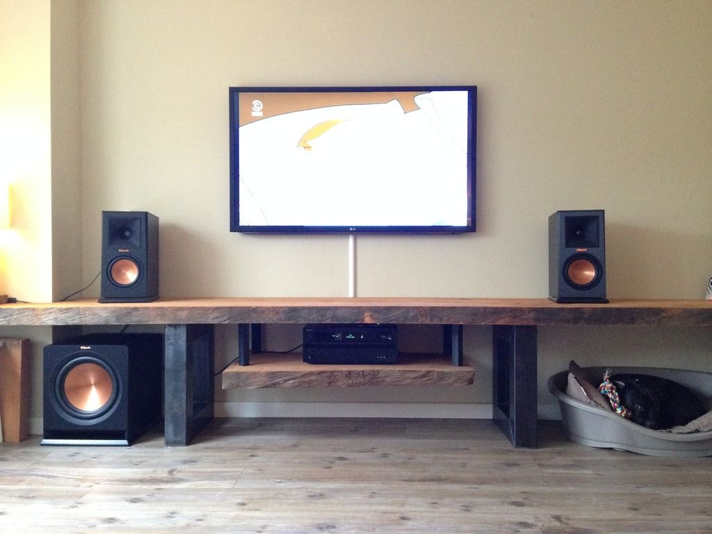 Klipsch Subwoofers Speakers Topic Audio Room Living Room Tv Unit Designs Home Theater Rooms