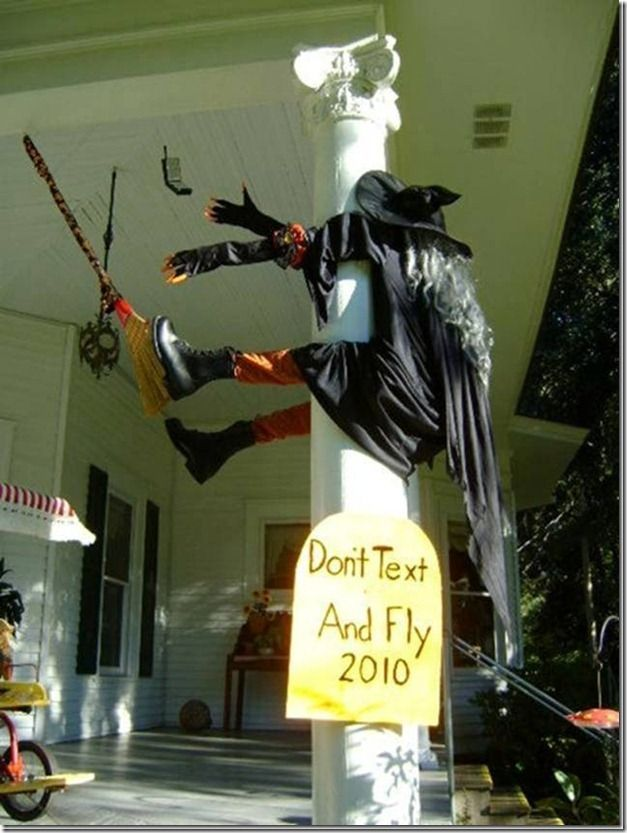 dont text and fly haha --- Visit our shop --- #halloween decorations