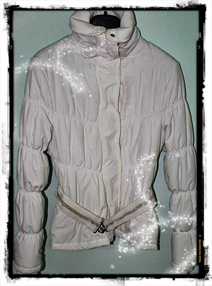 Giubbotto bianco Zara