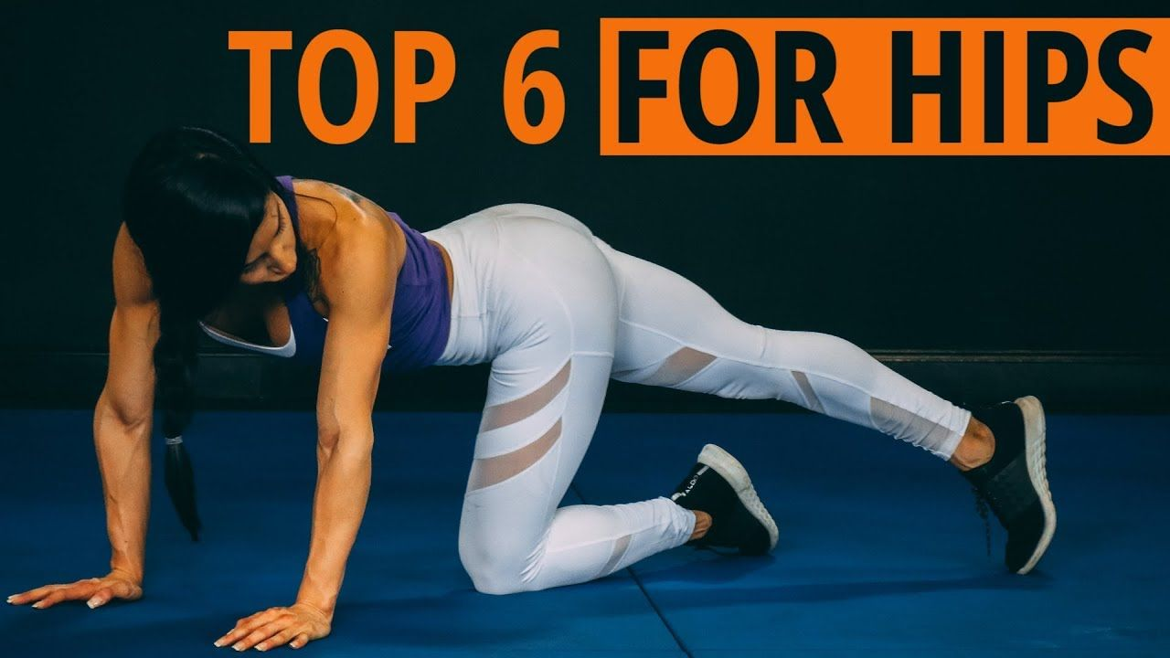 The BEST Stretches to OPEN up TIGHT HIPS (Improve HIP