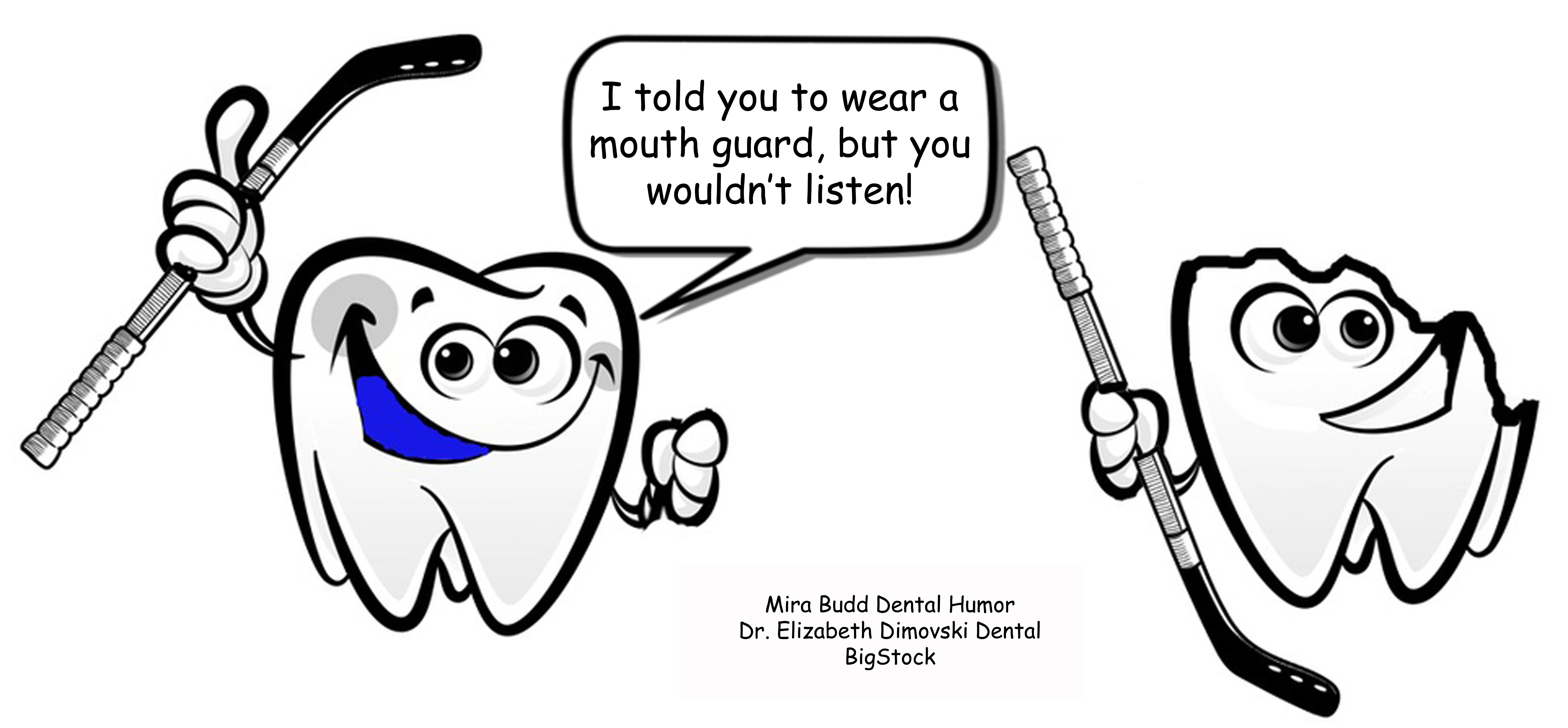 Keep your teeth protected in sports activities! Dental