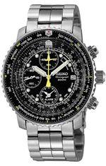 0bf7b5b00d8 Seiko Chronograph A6B Fighter Pilots Watch
