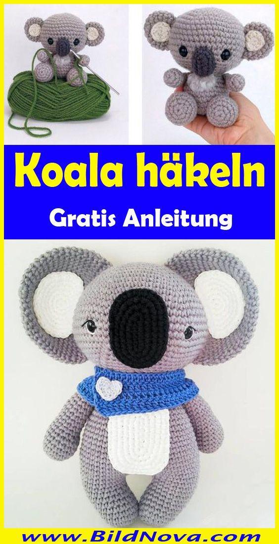 Photo of #stricken für kinder deutsch Koala häkeln – Einfache & kostenlose Anleitung