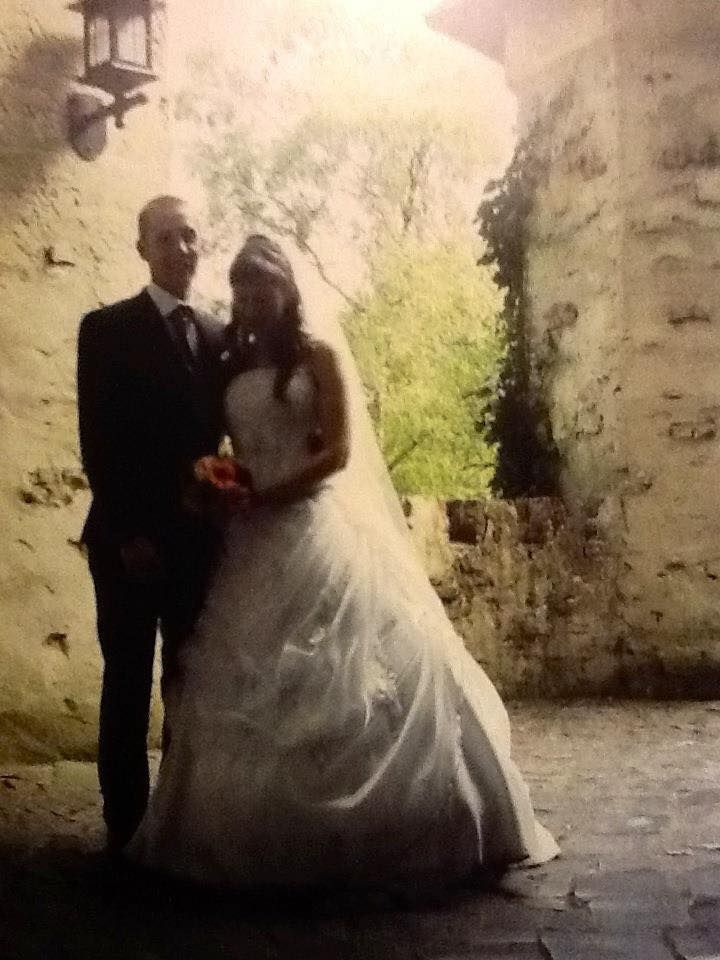 Greet maakte haar trouwfoto's in 2009 in de Efteling