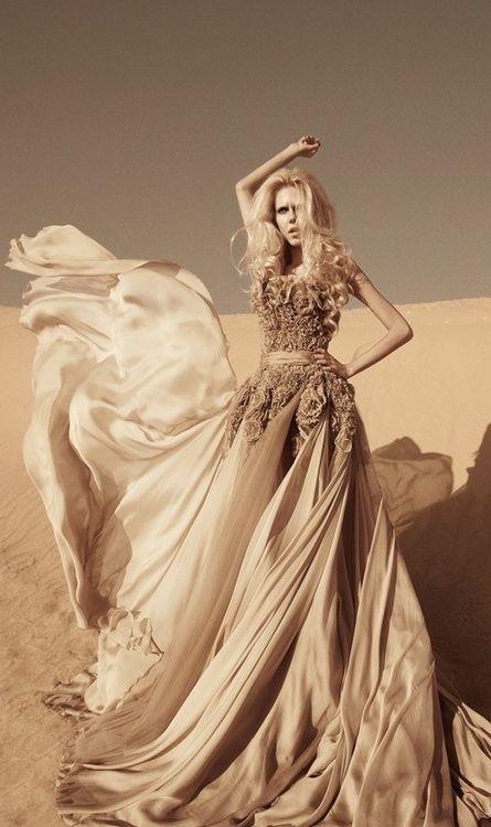 Gown by Shady Zein Eldine @}-,-;—