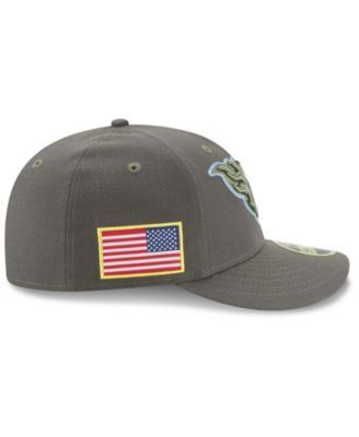New Era Tennessee Titans Salute To Service Low Profile 59FIFTY Fitted Cap -  Green 7 1 4 758d74aec859