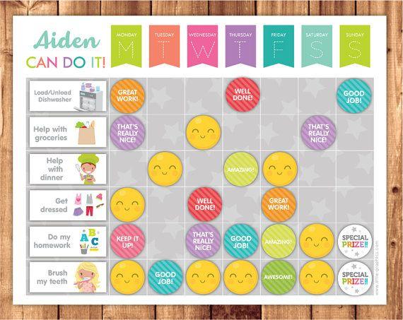 Chore Chart Reward Chart Or Routine Chart Chores Behavior