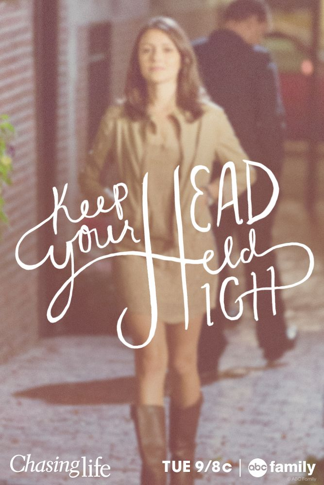 Keep your head held high. #ChasingLife