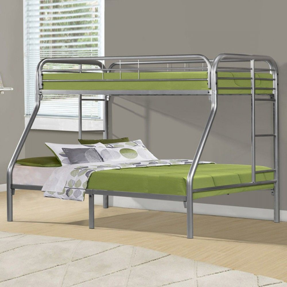 Metal Bunk Beds Twin Over Double S Izobrazheniyami Dvuhyarusnye