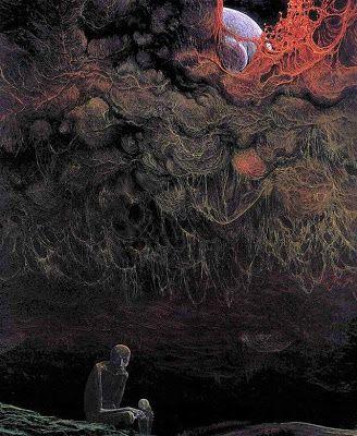 Les tableaux morbides de Zdzisław Beksinski    tableaux morbides de Zdzislaw Beksinski 24