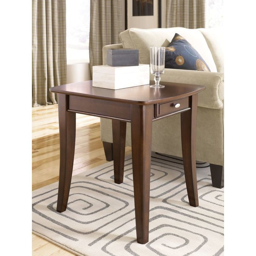 Rectangular End Table Furniture, End tables, Round