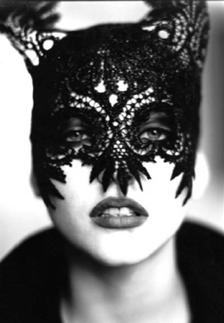 Nadja Auermann, VOGUE UK, Paris, 1991. Ellen von Unwerth. Silver Gelatin -