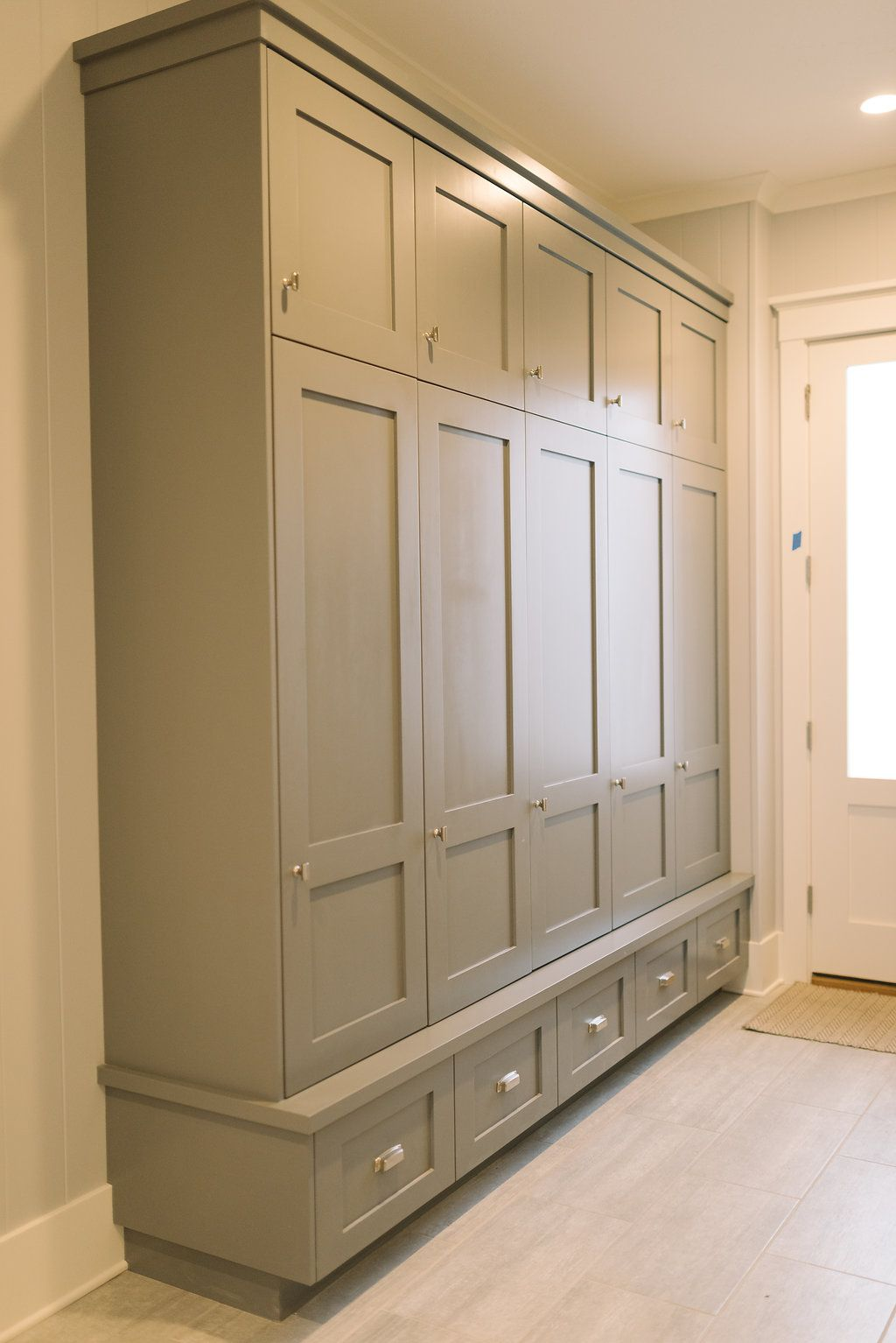 Mudroom lockers with doors - Mudroom Lockers Four Chairs Furniture