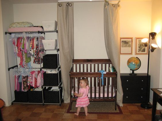 Can You Fit A Baby Into A Onebedroom Apartment Baby Pinterest Awesome Baby In One Bedroom Apartment