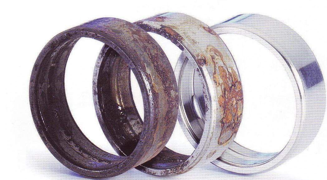 Oxidacion del metal oxidaci n de metales pinterest - Como limpiar metal oxidado ...