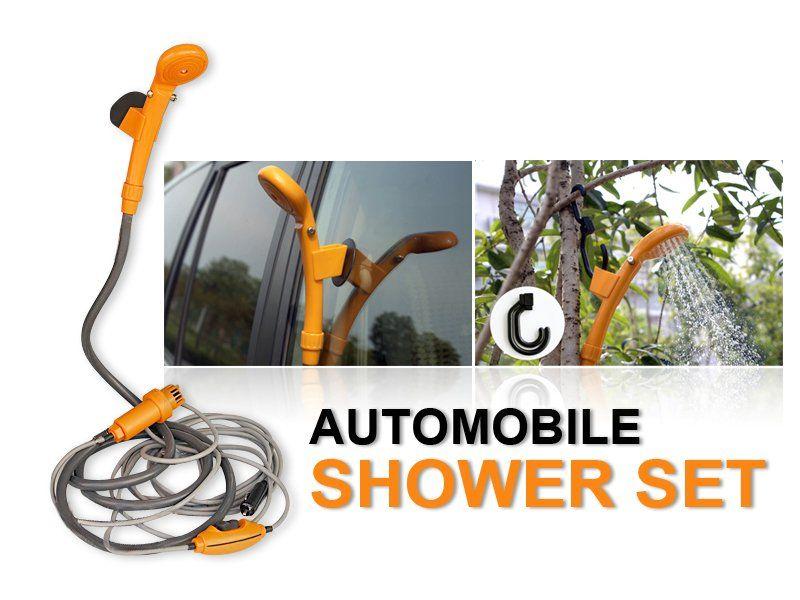 Camping Shower Set 12V DC Crazy Sales We have the best