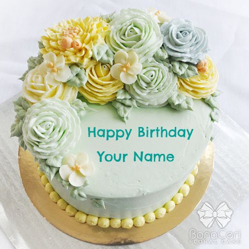Design A Cake With Name : Create Birthday Cakes With Names www.imgkid.com - The ...