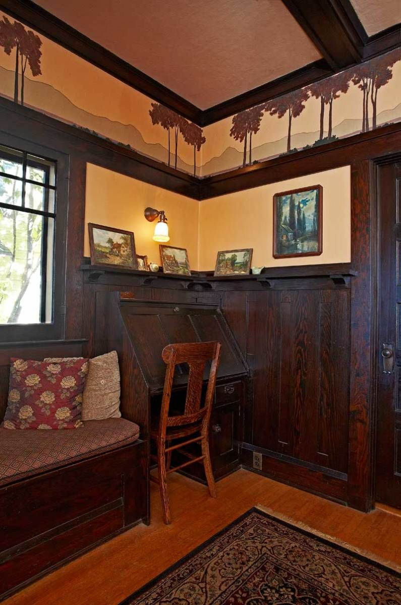 Whittier Living Room Interior Decorator: The Arts & Crafts Room: Inspired Design For Vintage & New