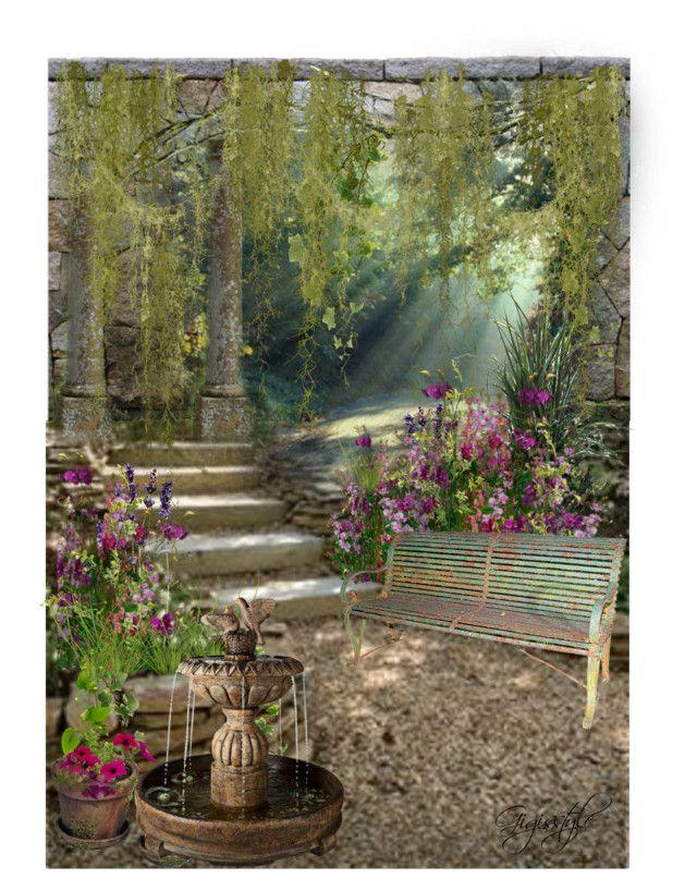 Secret Garden | Garden, Design, Interior decorating