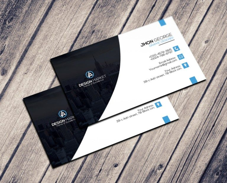 Free Creative Personal Business Card Psd Template Business Card Psd Personal Business Cards Business Card Design