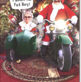 Funny Biker Christmas Pictures 1 272x273 With Images