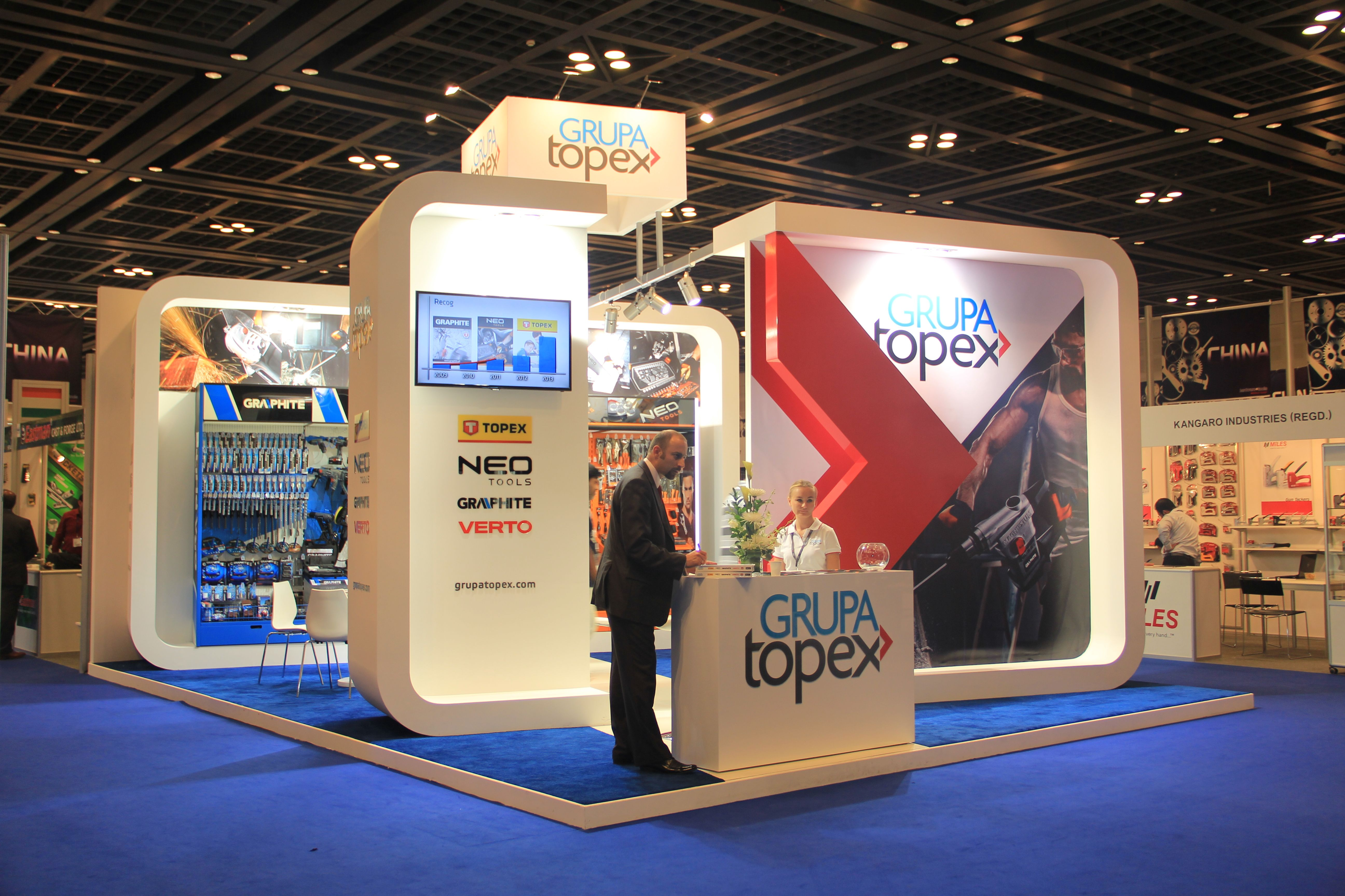 Exhibition Stand Design Tool : Grupa topex by van hagen middle east hardware and tools