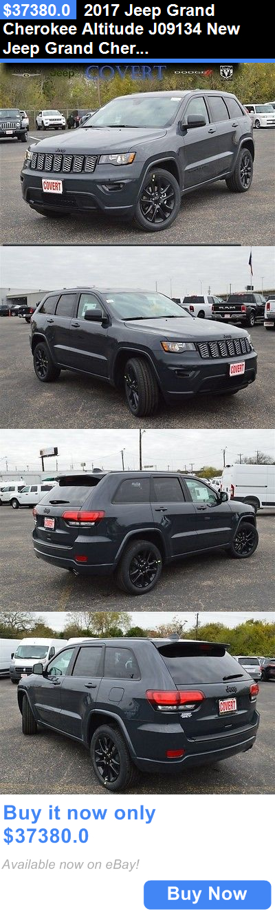 SUVs: 2017 Jeep Grand Cherokee Altitude J09134 New Jeep Grand Cherokee Altitude Black Suv 3.6L V6 24V Automatic Rwd BUY IT NOW ONLY: $37380.0
